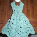Knit Dishcloth Dress