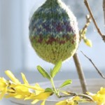 Knitted DROPS Easter Egg