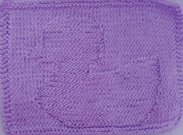 KNITTING PATTERN DUCK FREE DISHCLOTH - VERY SIMPLE FREE KNITTING PATTERNS