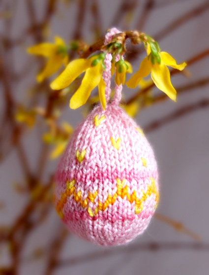 Beaded Easter Egg Ornaments Knitting Pattern Leaflet | eBay