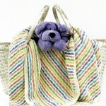Eluma Striped Baby Blanket