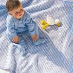 Favorite Blue/White Blanket