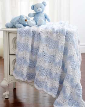 Knitting Patterns for Blankets and Throws from artyarns, Mac and