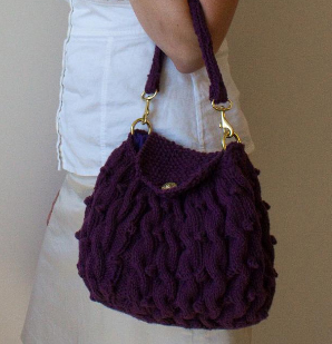 Knitted Handbags Patterns : Knitting Project Bag Pattern from KnitPicks.com Knitting