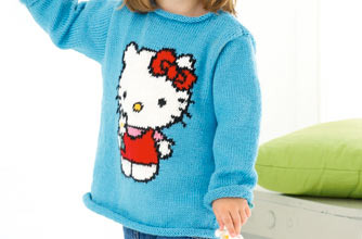 Knitting Pattern For Hello Kitty Sweater : FREE KNITTING PATTERNS FOR JUMPERS   Browse Patterns