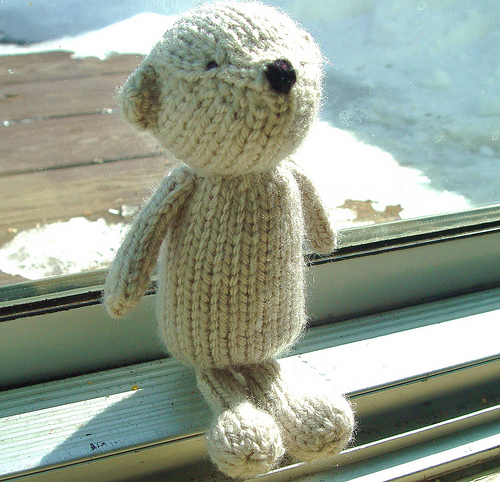 Teddy Bear Knitting Pattern images