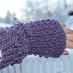 Hot Pepper Wrist Warmers
