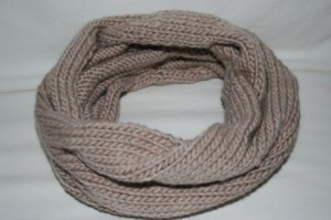 Pomp Scarf - Free Knitting Pattern for a Neck Warmer Worked in