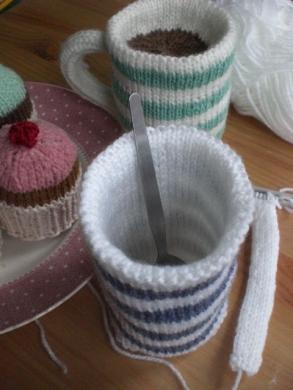 Free Knitting Patterns For Mug Rugs Very Simple Free
