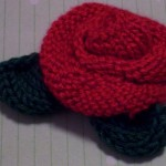 Rose Knitting Pattern