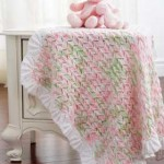 Lacy Blanket to Knit for Baby