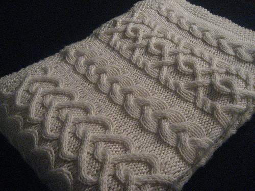 levi baby blanket Cable Knitting Patterns