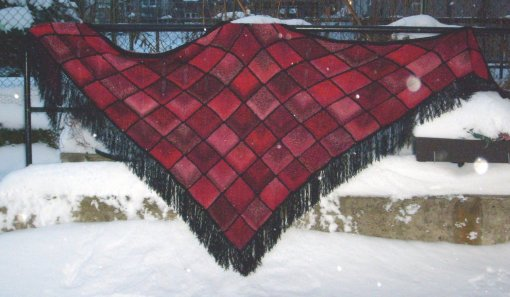 The Morrighan Shawl