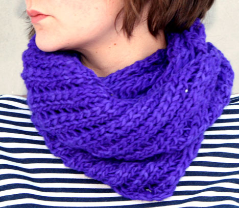 Free Knitting Patterns For Cowl Neck Scarves : Cowl Neck Patterns   Design Patterns