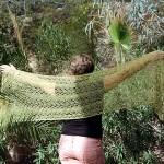 Palm Fronds Shawl