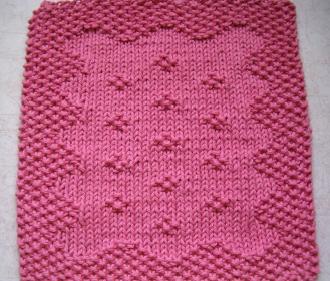 Free Knit Baby Washcloth Patterns : FREE KNITTING PATTERNS FOR BABY WASHCLOTHS   KNITTING PATTERN