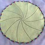 Round or Pinwheel Baby Blanket