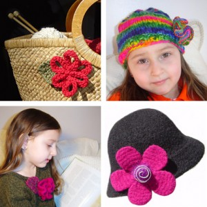 Knitting - Flowers on Pinterest | 249 Pins