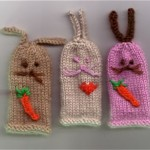 Rabbits Finger Puppets