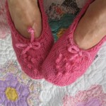 Raspberry Bed Socks