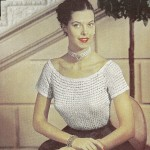 Ribbon Blouse, 1952