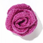 Knit Flower Rose