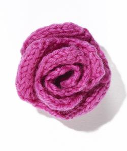 Knit Flower Rose