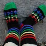 Roy G BiV Socks