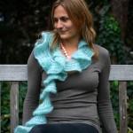 Ruffle Lace scarf