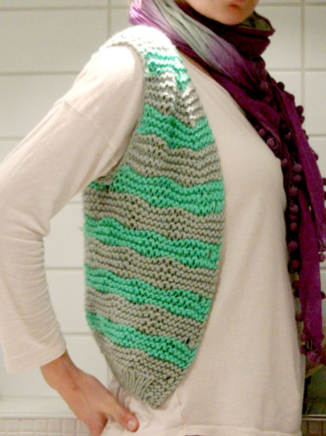 KNITTING PATTERNS FOR VESTS FREE PATTERNS