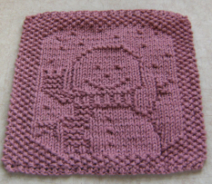 Free Crochet Pattern - Little Dress Cotton Dishcloth from the