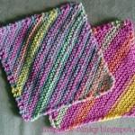 Striped Diagonal Cloth