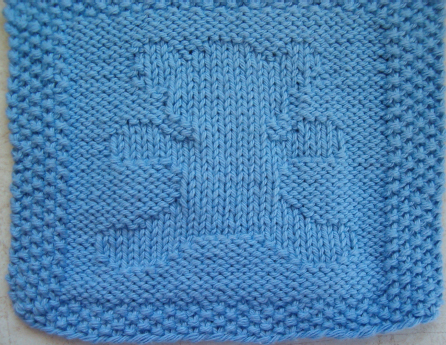 Teddy Bear Washcloth