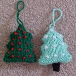 Christmas Tree Ornaments Pattern