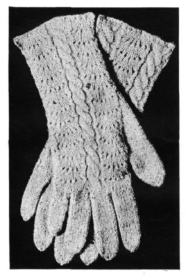Knitting Pattern Central Directory : FREE KNITTING PATTERN FOR LADIES GLOVES   KNITTING PATTERN