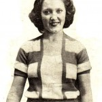 Striped Sweater, 1930's