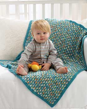 Zoology Baby Blanket