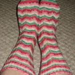 Watermelon Wedges Socks