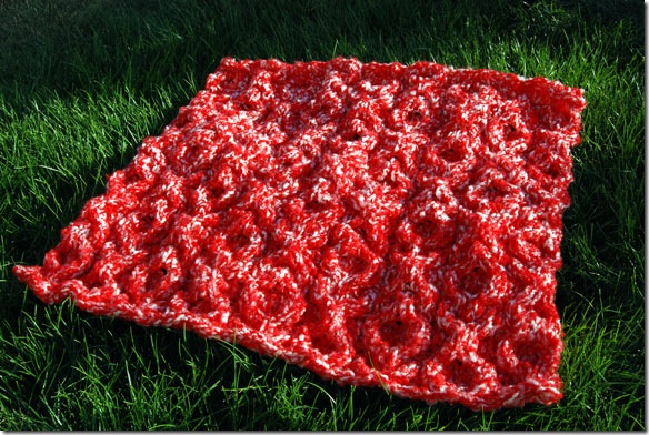 XOXO Hugs and Kisses Cable Baby Blanket Pattern