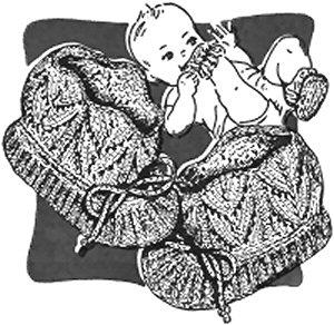 KNITTING PATTERNS FOR BABIES TO PRINT   KNITTING PATTERN