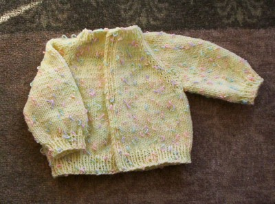 Child Raglan Cardigan knitting pattern - Ninnyknits