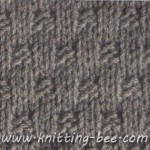 Free Basket Weave Stitch Knitting Pattern