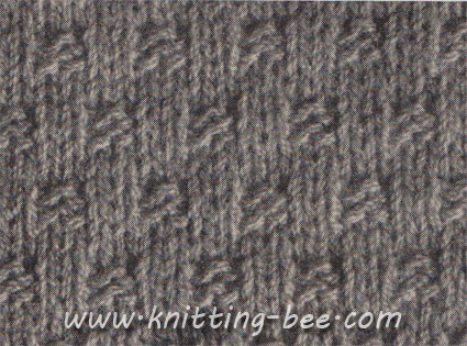 Basket Weave Stitch Knitting Pattern Knitting Bee