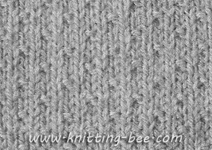 Knitting Stitches Pattern : Dot Stitch Knitting Pattern ? Knitting Bee