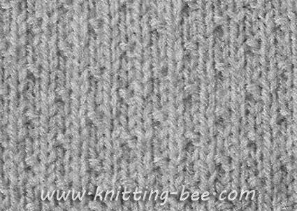 dot stitch knitting pattern