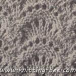 free Fan Stitch Knitting Pattern