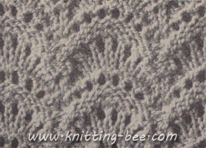 Wave Stitch Knitting Pattern Knitting Bee