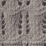free feather stitch knitting pattern