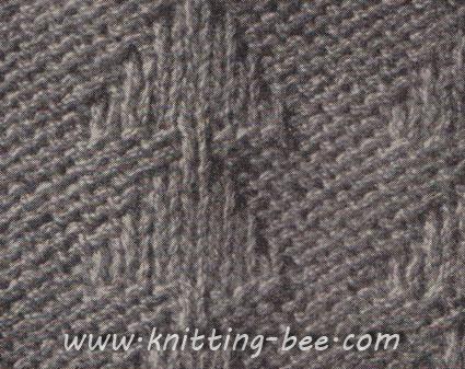 Free Pyramid Stitch Knitting Pattern