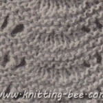 free knitting pattern scallop stitch